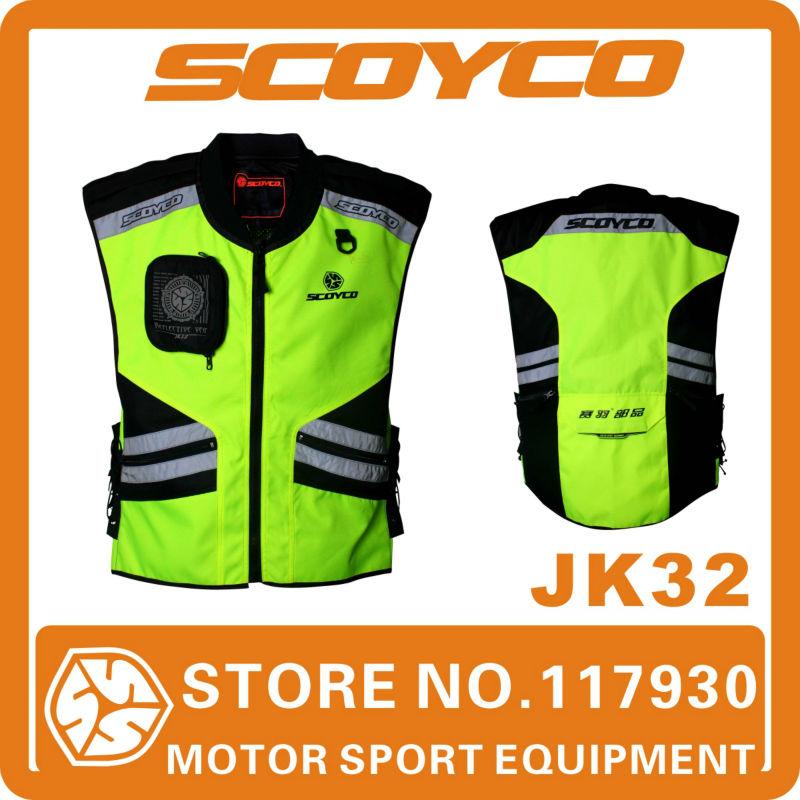Automobiles & Motorcycles > Roadway Safety > Reflective Safety Clothing Scoyco JK32 reflective vest kids motorcycle safety vest(China (Mainland))
