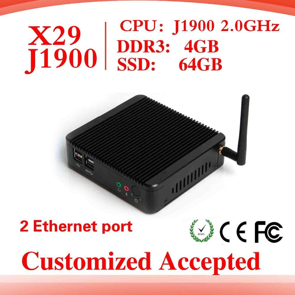 High performance newest mini pc Intel J1900 dual core cheap mini pc station thin client computer box laptop desktop computers(China (Mainland))