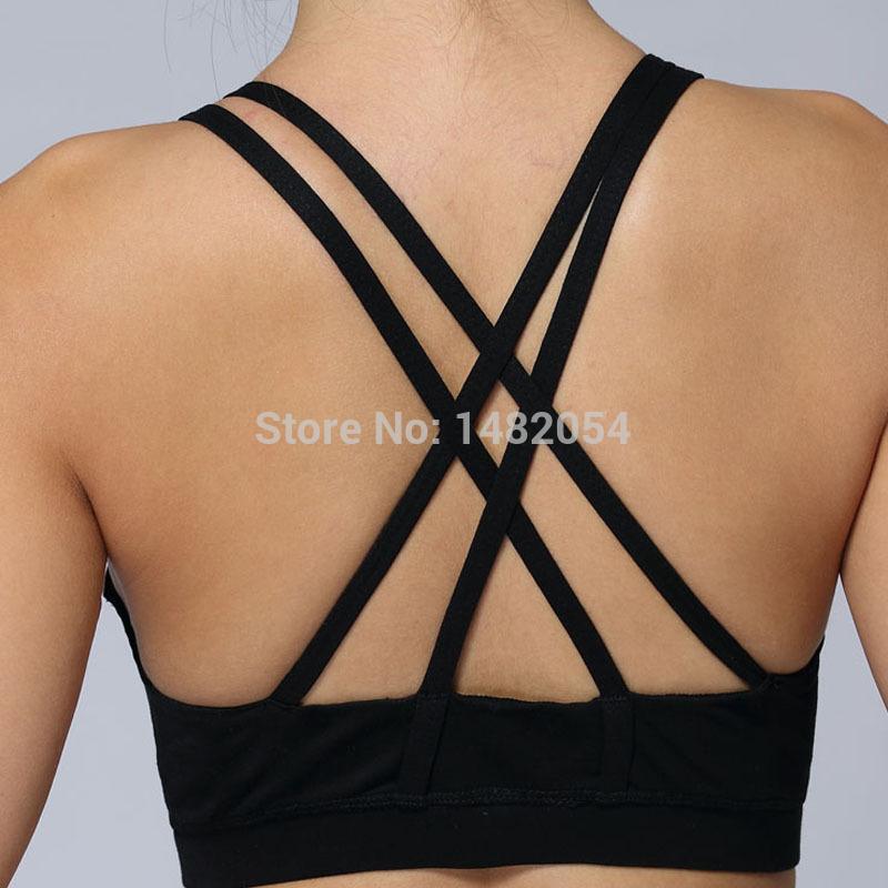 Sport energy new black purple sports bra good quality lulu top fashion women gym tanks tops camis culture Vest size4-12(China (Mainland))