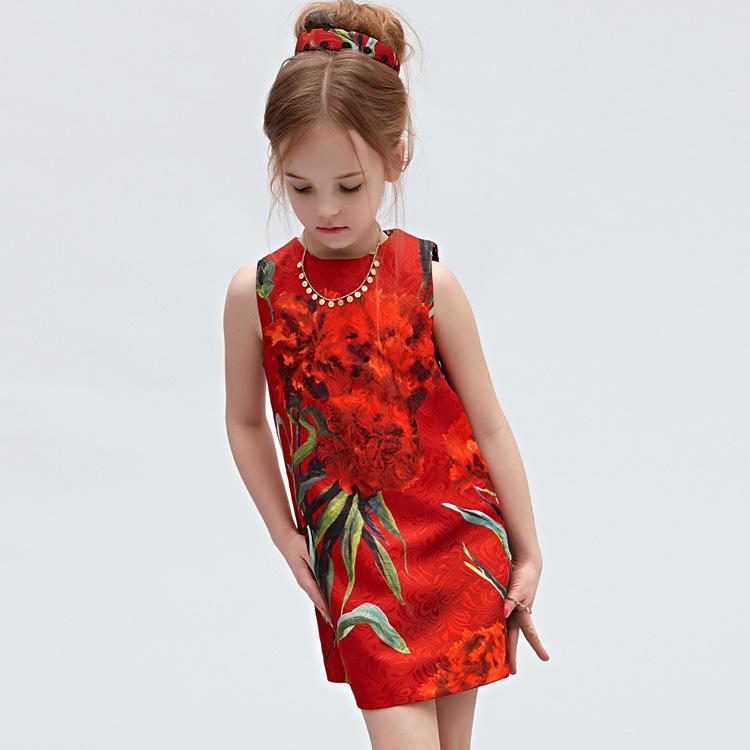 Модное платье для девочки 10 лет