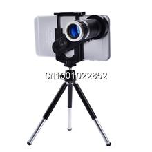 Lentes de telefoto câmera telescópio lente do telefone móvel Universal 8X Zoom para iPhone 4 4S 5 5C 5S 6 além disso Samsung Galaxy(China (Mainland))