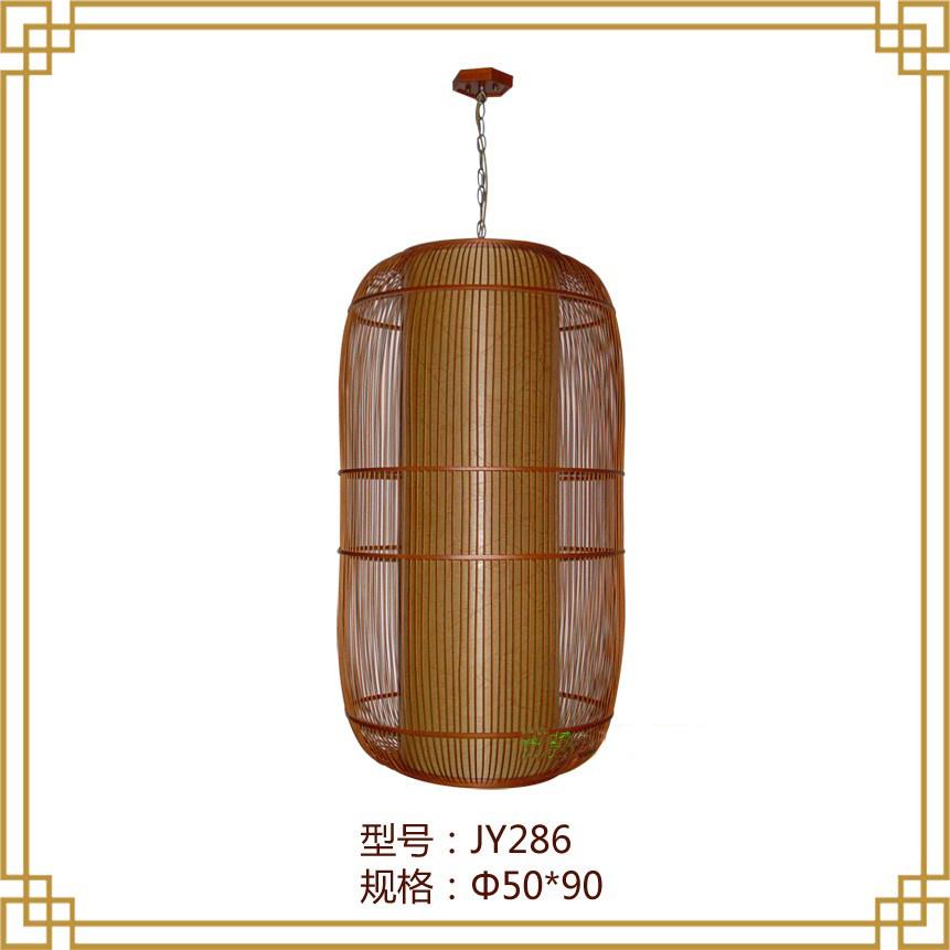 Bamboo Bamboo chandelier lamp creative minimalist modern villa hotel restaurant with large garden art chandelier chandelier(China (Mainland))