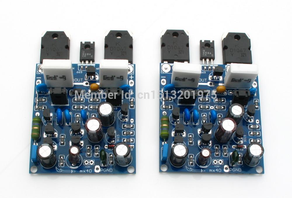 Аудио усилитель OEM MX40 100W + 100 4 AB LJM аудио усилитель mx50 se 100w 100 100wx2 diy