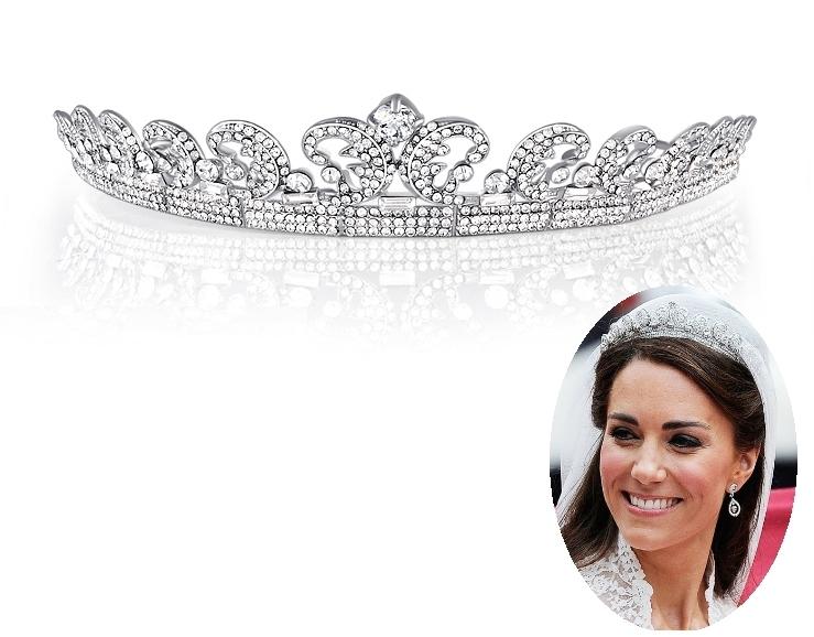 2015 Hot New Princess Crown Rhinestone Bridal Tiara Quinceanera Pageant Tiaras Crowns Diadem Wedding Hair Accessories Headpiece(China (Mainland))