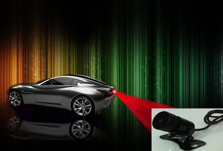 Anti Collision Universal Red Warning Laser Car Rear Light Back Reliable Warning Driving Warning Lamp(China (Mainland))