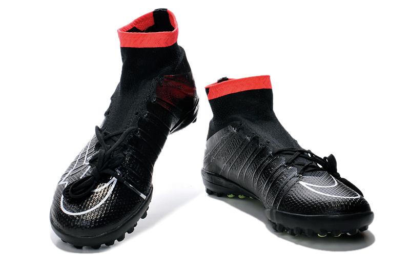 2015 novos homens de alta tornozelo botas de futebol indoor forelastico shoes IC futebol top quaility tênis de Futsal chuteiras de futebol(China (Mainland))