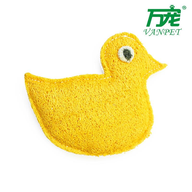 Wholesale loofah pet toys collided pet / dog / cat toys(China (Mainland))