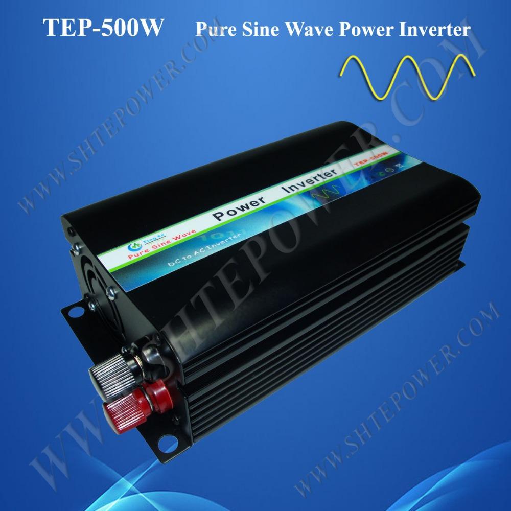 Free shipment 500w inverter 48v 230v inverter off grid power inverter pure sine wave(China (Mainland))