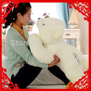 Giant teddy bear Plush toys brinquedos meninas spongebob lembrancinhas de casamento valentine birthday gift ty plush animals 55(China (Mainland))