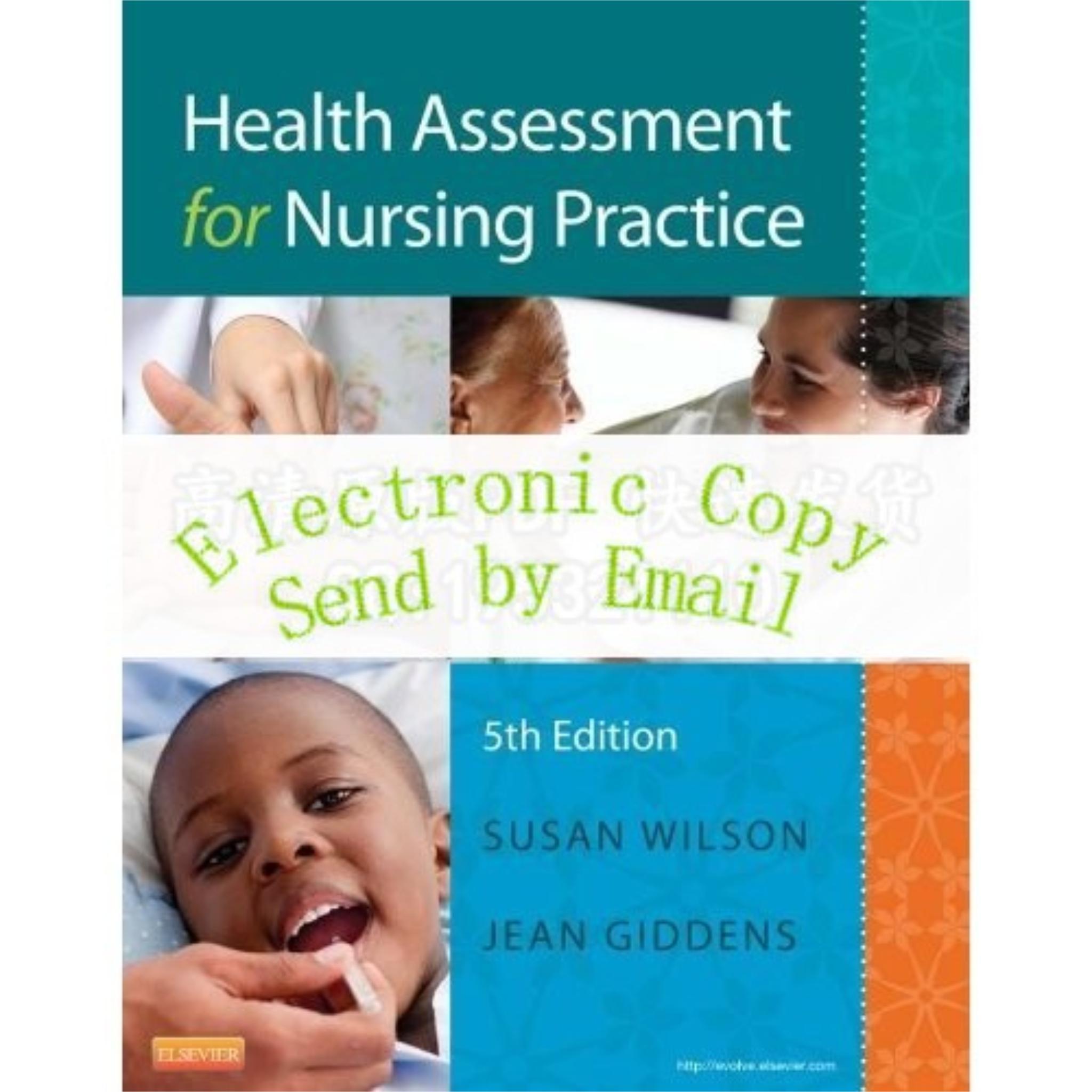nursing health assessment Nursing assessment 1 part of nursing process 2 nurses use physical assessment skills to: physical examination & health assessment (6th ed.