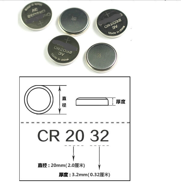 Good quality 50 X CR2032 DL2032 CR 2032 Lithium Cell Button Battery for Appliances