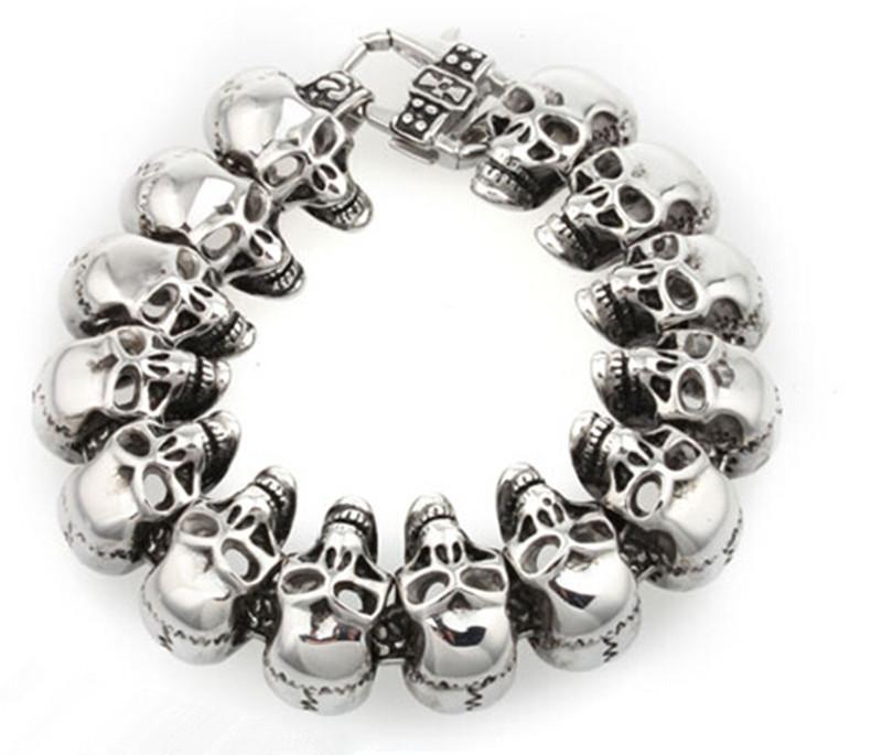 Skull Bracelet India North Skull Head Bracelet