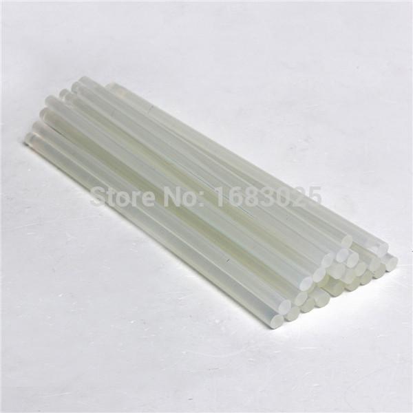 New Design 25 pcs 7mmx200mm Clear Glue Adhesive Sticks For Hot Melt Gun Car Audio Craft