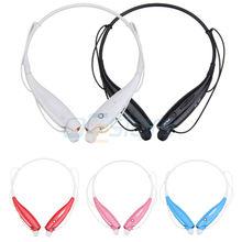 Спорт беспроводной громкой связи Bluetooth v4.0 гарнитура наушники с микрофоном для LG G3 HTC ONE M9 Samsung S6 край S5 iPhone 6 плюс 5S 5
