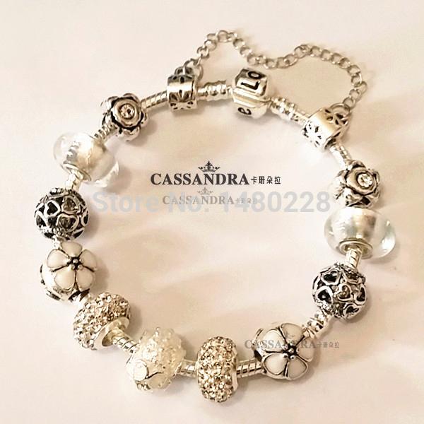 Браслет-цепь Cassandra pandora cb/3/25/01 CB-3-25-01 браслет цепь other 17 1 925 pandora