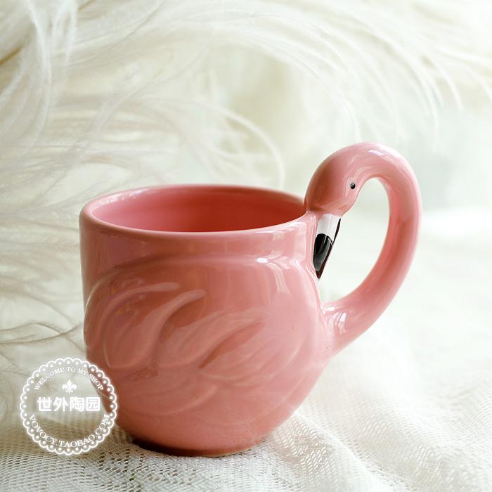 Ceramic Cups Ideas Flamingo Ceramic Cup Ideas