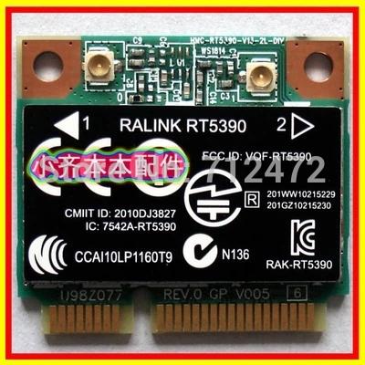 New Original Wireless Card Ralink RT5390 300Mbps 802.11b/g/n Half Mini PCI-E Card for HP CQ56 G4 G5 G7 4330S(China (Mainland))
