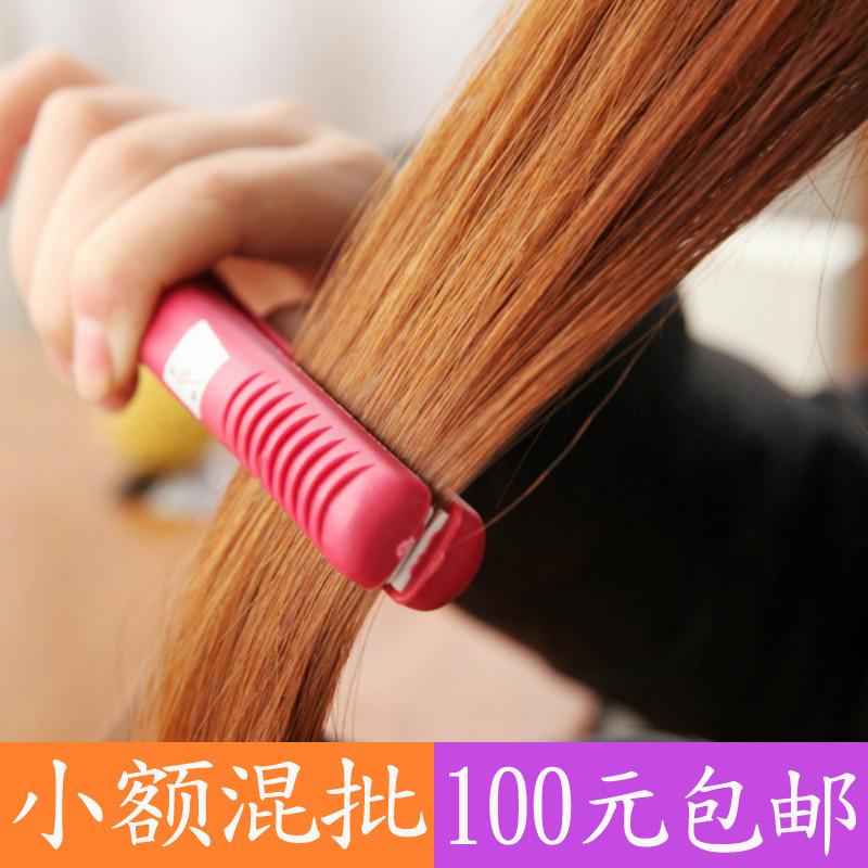 Mini Hair Straightener Straight Rolled Dual-purpose Curling Iron Curler Ceramic Monoblock Electric Curls Machine(China (Mainland))