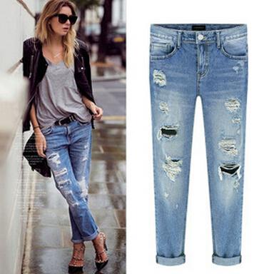 купить Женские джинсы Jingyue 2015 Top076 недорого