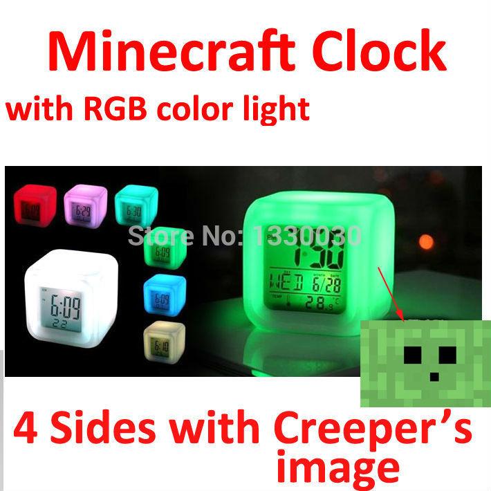 Будильник Ali Minecraft 7 /90114 головоломка мишка 90114