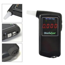 1 pieces Portable Professional Police Electronic Digital LCD screen Display breathalyzer Alcohol Tester (China (Mainland))