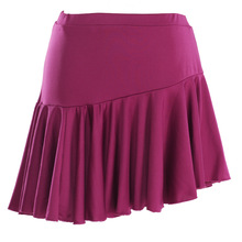 Free shipping 2015 New fashion Women's skirt Latin Dance Skirt dance clothing square skirt 8 color(China (Mainland))