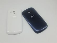 Original OEM White&Blue Housing Cover Case Battery Back housing Cover Case For Samsung S3 MINI i8190 (China (Mainland))