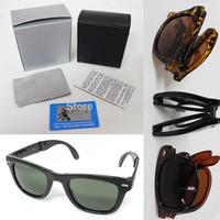 free shipping 4105 Unisex fashion vintage Polarized sunglasses man Classic Brand Rivets Design men women retro Sun glasses
