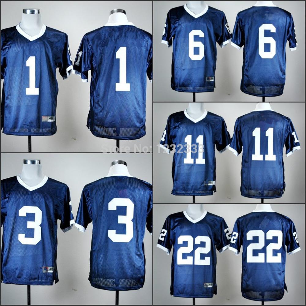 Best Seller Low Price Men's Penn State Nittany LionsJerseys,#1 #6 #11 #22 Jerseys, NCAA College Football Jerseys(China (Mainland))