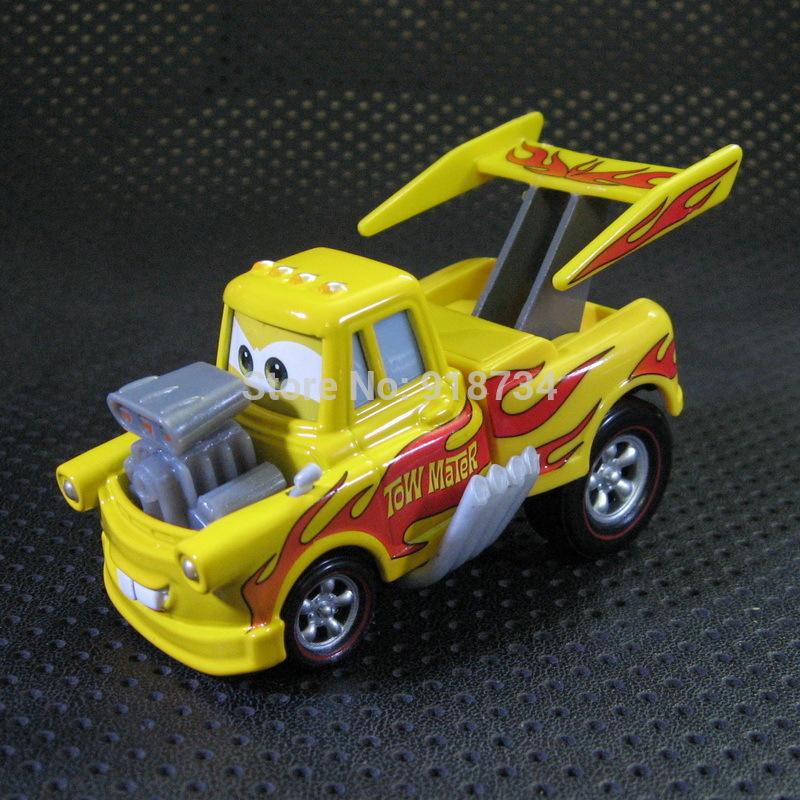 100% original --- Rare Pixar Cars diecast figure toy DRAG STAR MATER Tow Mater free shipping(China (Mainland))