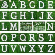 Chegam novas 3D 26 inglês letras de madeira artesanato decoração da DIY A A Z do alfabeto Mix Decor letras de alta qualidade(China (Mainland))