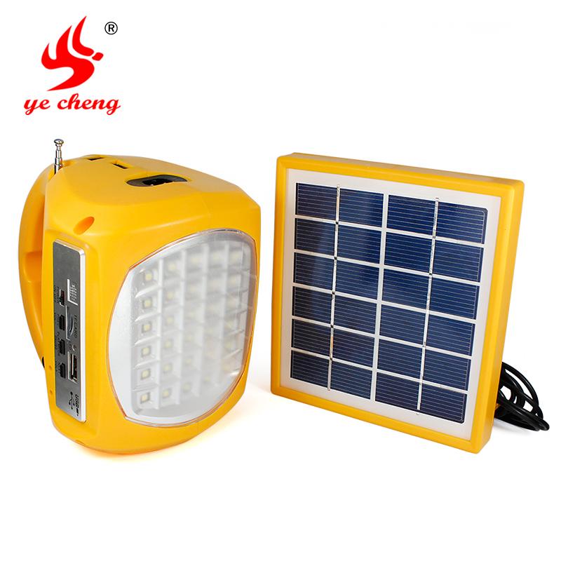 Outdoor Lighting,Wild tent light solar camping light home emergency portable light radio flashlight mobile phone charge(China (Mainland))