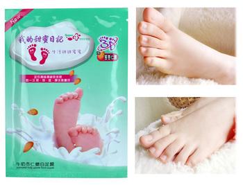 Уход за ногами пилинг для ног маска молоко миндальное молоко миндаля ног пилинг детские ноги носки для педикюра бесплатная доставка для удаления кутикулы