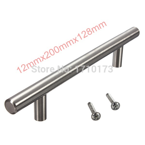 The Best Price !!Top Quality Lighweight Stainless Steel Bar Pulls Cabinet Hardware Drawer Knobs Pulls & Hinges 20cm Hot Sale(China (Mainland))