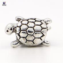 NEW Free Shipping 1pc Jewelry 925 silver Tortoise Bead Charm European Silver Bead Fit Pandora BIAGI Bracelet