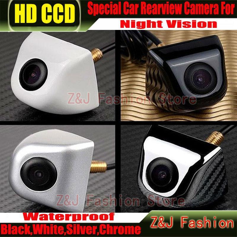Car Camera 100% Waterproof 170 Degree Wide Angle Luxury HD CCD Car Rear View Backup Camera Factory Selling ZJ(China (Mainland))