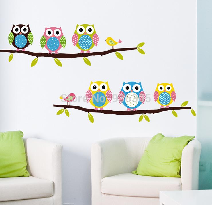 Трафареты для декора стен детской