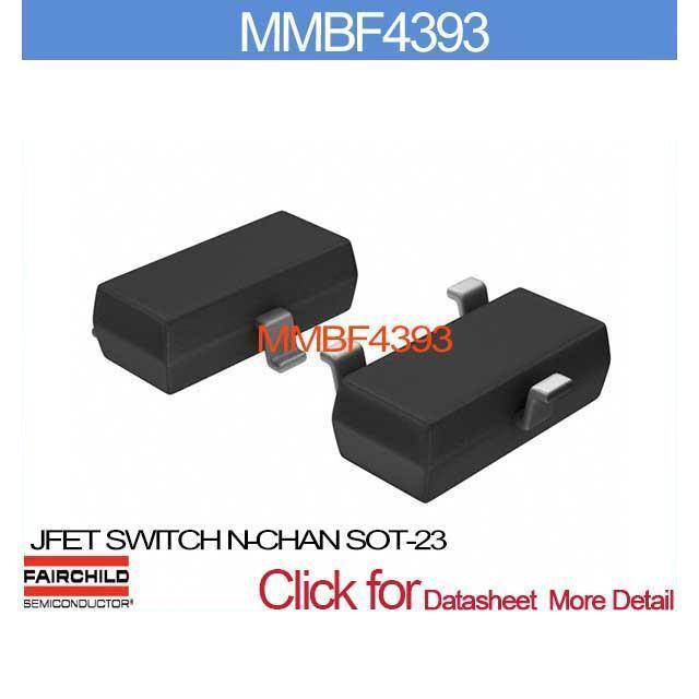 MMBF4393 JFET SWITCH N-CHAN SOT-23 MMBF439 4393 MMBF4 4393 MMBF 4393(China (Mainland))