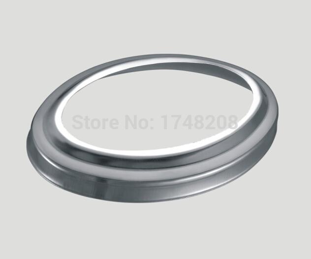Atacado de alta qualidade em aço inoxidável Oval decorativo tampa corrimão / escada parte(China (Mainland))