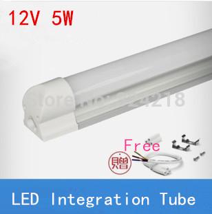 5W 300mm led T5 tube light super brightness SMD3014 450lm 0.3m 30cm integrated fluorescent lamp warm/cold white AC85-260v or 12V(China (Mainland))