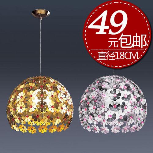 Single crystal lighting modern minimalist restaurant chandelier bar aisle head of European fashion crystal chandelier(China (Mainland))