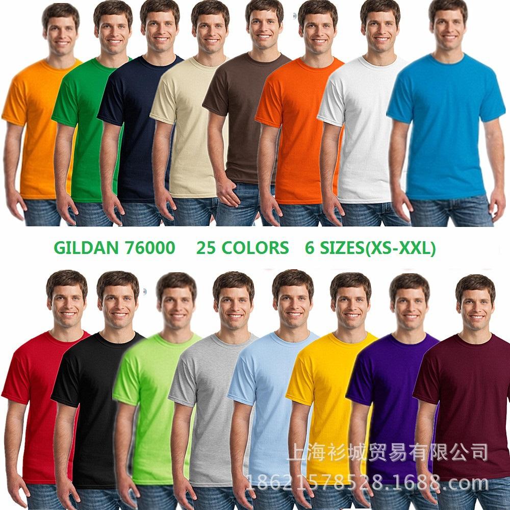 Gildan Short Sleeve T-shirt Colors t Shirts Short Sleeve