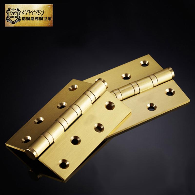 Witt copper armor all copper price of copper door hinge door hinge folding 4-inch thick doors of a package(China (Mainland))