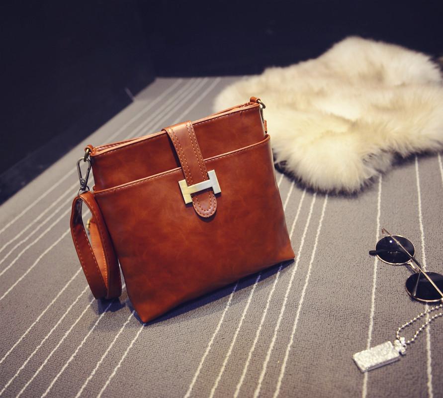 2015 women messenger bags vintage motorcycle shoulder bag for women bolsos mujer lady crossbody bags bolsa feminina handbags(China (Mainland))