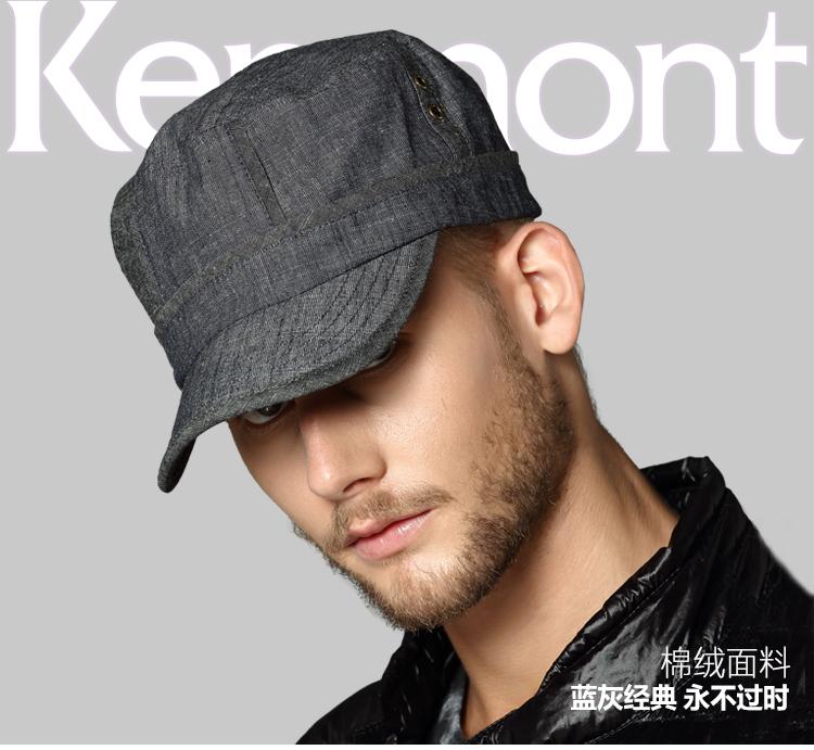 Type Flat Cap Hat Men Sun