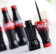 New Brand Cola Style Waterproof Eyeliner Liquid Type Makeup Eye liner Long Last Black Eyeliner MK0148