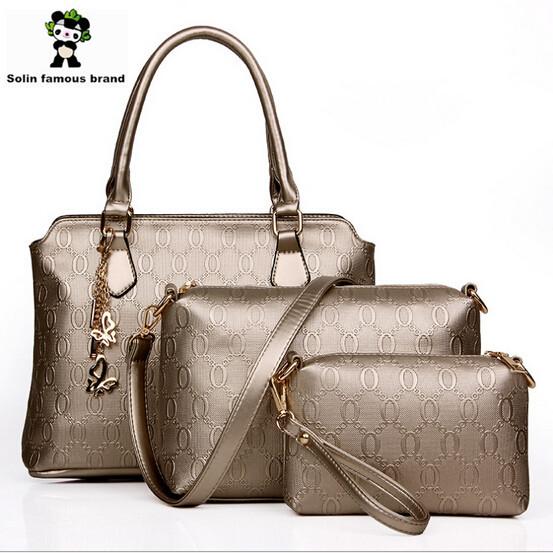 Сумка через плечо Solin famous brand 2015 bolsos desigual Crossbody Panda designer handbags