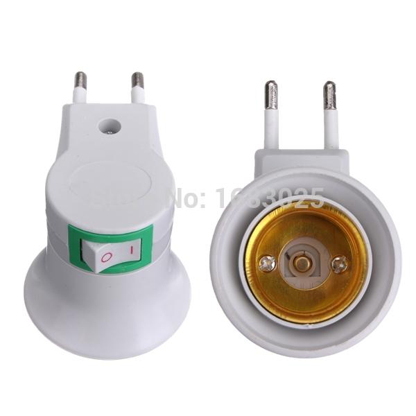 Преобразователь ламп E27 E27 to EU Adapter