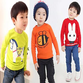 Новый стиль мультфильм детские футболки с длинным рукавом мальчики одежда бесплатная доставка Roupas Infantis Menino высокое качество футболки