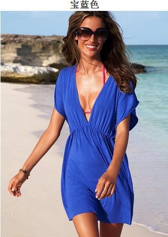 Женская туника для пляжа AL  ZQ-01